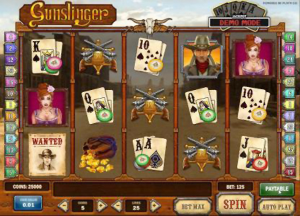 Gunslinger sheriff stars on the cards