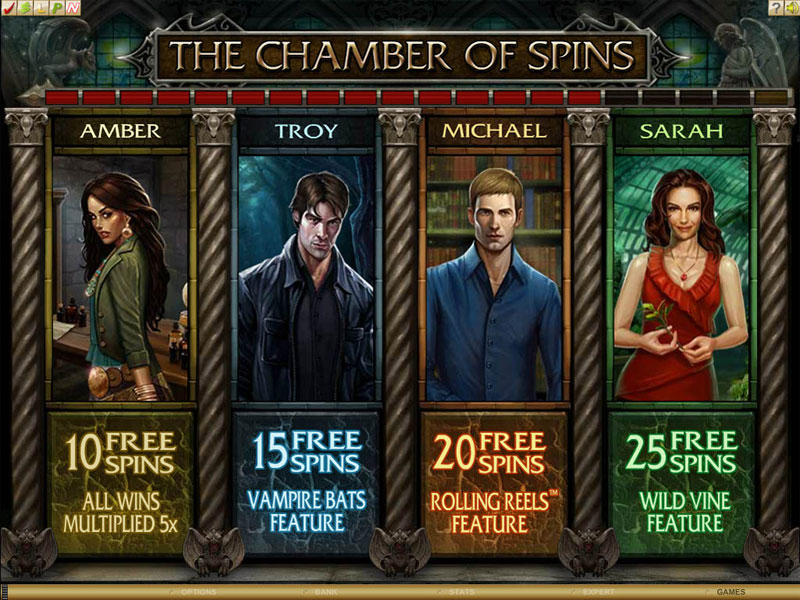 Immortal Romance - 2 Chamber-of-Spins-Bonus