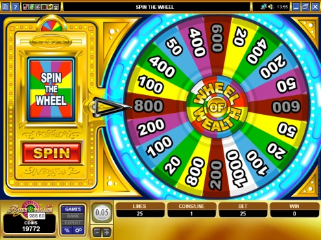 fortune wheel in slots
